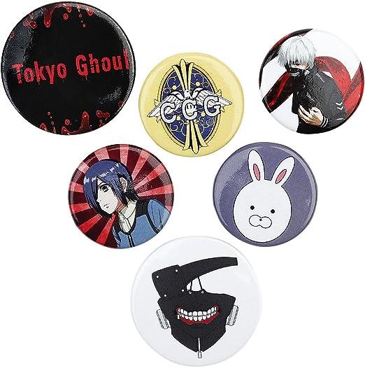 GB eye, Tokyo Ghoul, Pack de Chapas: GB Eye: Amazon.es: Hogar