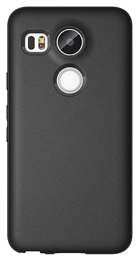 61 opinioni per Diztronic N5X-FM-BLK Custodia Opaca Soft Touch Flessibile TPU per LG Nexus 5X,