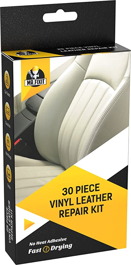 Amazon.com: 30pc Set Leather & Vinyl Repair Kit [Restore any ...