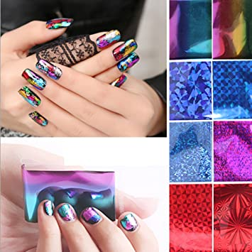 Amazon Nail Art Nails Art Nail Glitter Nail Foil Glue