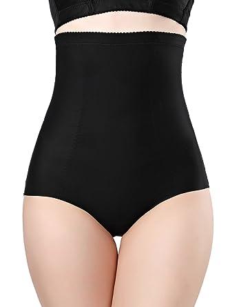 fc4f45ead72b1 DODOING Women s Hi-Waist Shapewear Tummy Slimming Underwear Shaper Brief  Butt Lifter Slim Panty