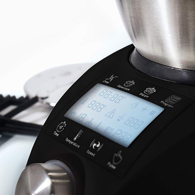 IKOHS Chefbot CompactRobot de cocina de multifunción con diseño compacto [23 funciones + Digital + 10 velocidades con turbo, 3,5 litros de acero inoxidable] sin BPA [ Negro]: Amazon.es: Hogar