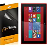 [3-Pack] Supershieldz- Premium Anti-Glare (Matte) Screen Protector For Nokia Lumia 2520 + Lifetime Replacements Warranty [3-PACK] - Retail Packaging