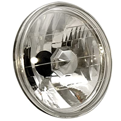 "AnzoUSA 841002 7"" H4 Universal Round Halogen Headlight: Automotive"