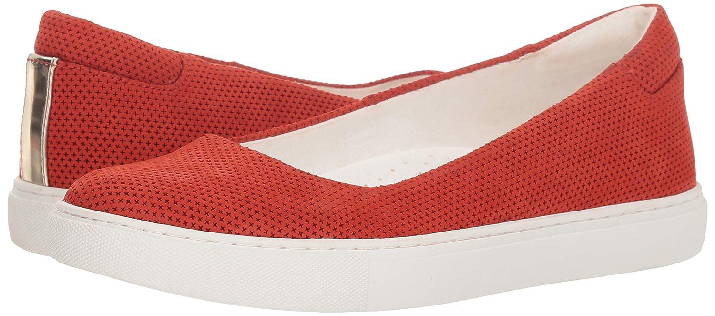 Kenneth Cole New York Womens Kassie 2 Perf Skimmer Slip on Ballet Flat Sneaker