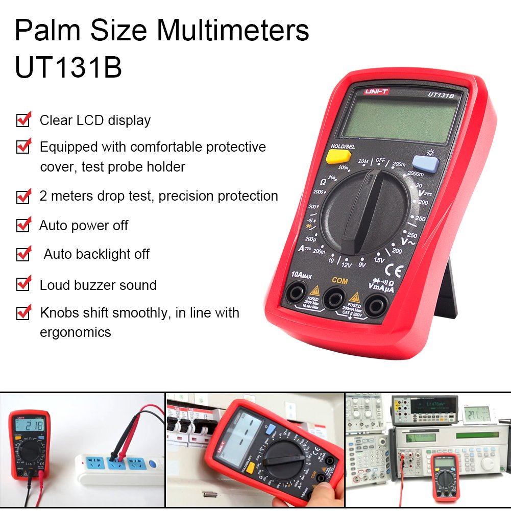 Signstek Maintenance and Test Electrical Test Kit, Including Palm Size Multimeter, Receptacle Tester and AC Voltage Detector by Signstek (Image #1)