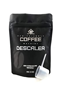 Coffee Machine Decalcifier | Universal Cleaner for Espresso Makers | Descaling Powder by Castle Preps