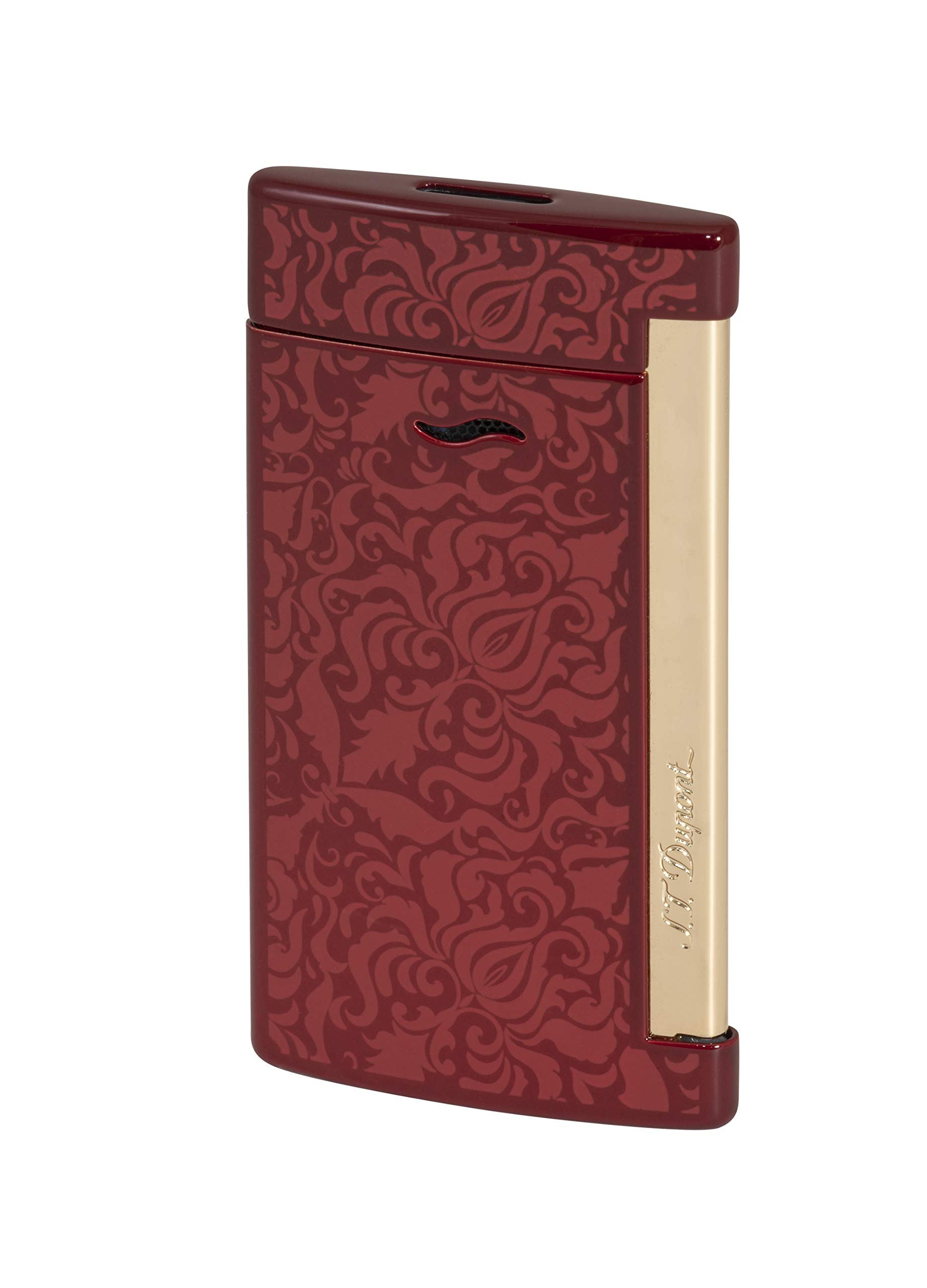 S.T. Dupont red Baroque Slim 7 Lighter by S.T. Dupont