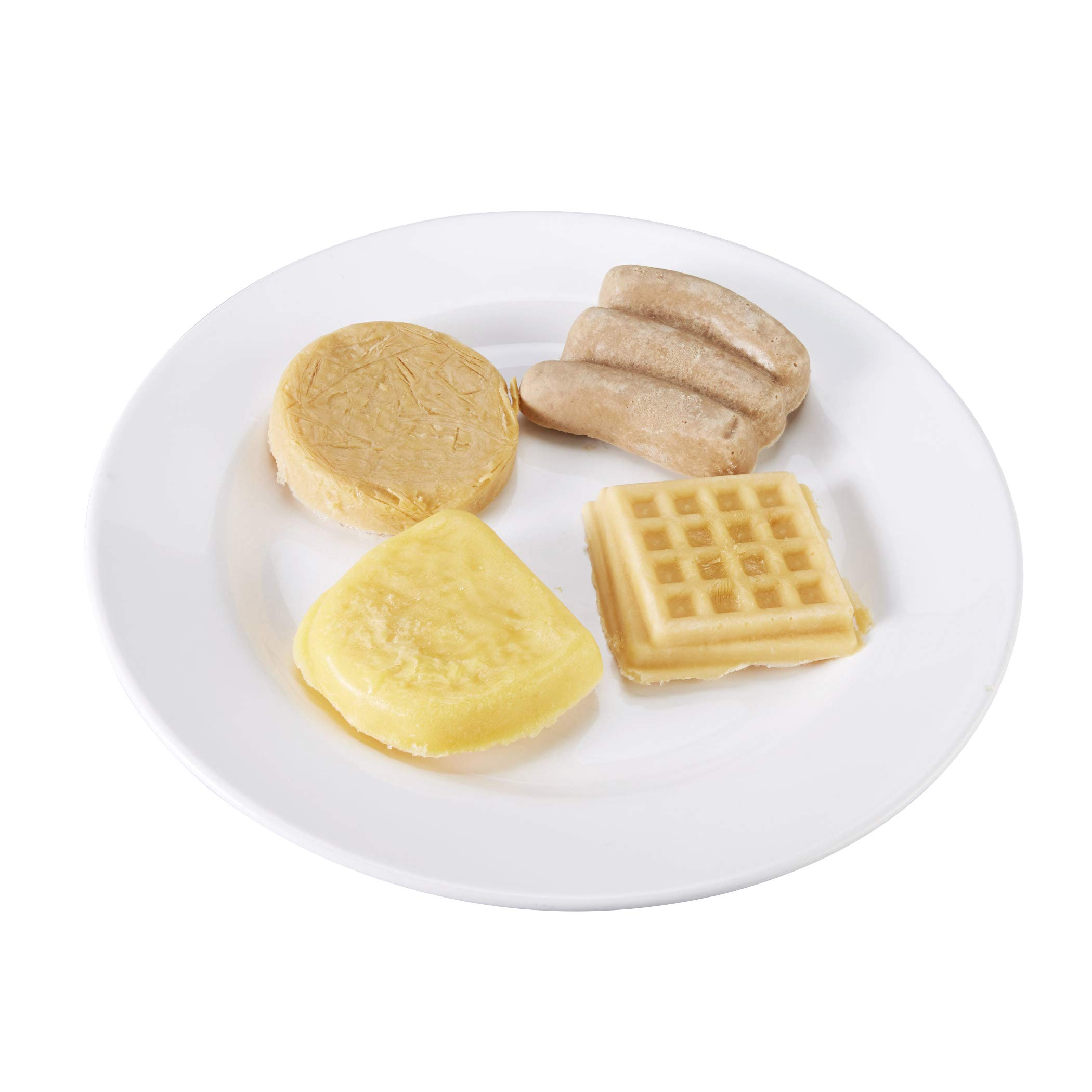 Hormel Healthlabs Thick & Easy Pureed Breakfast Variety Pack (Omelet, Pancake, Sausage, Waffle) 2.5 ounce Pack of 24