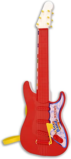 Bontempi- Guitarra Rock con 6 Cuerdas de Nylon (Spanish Business ...