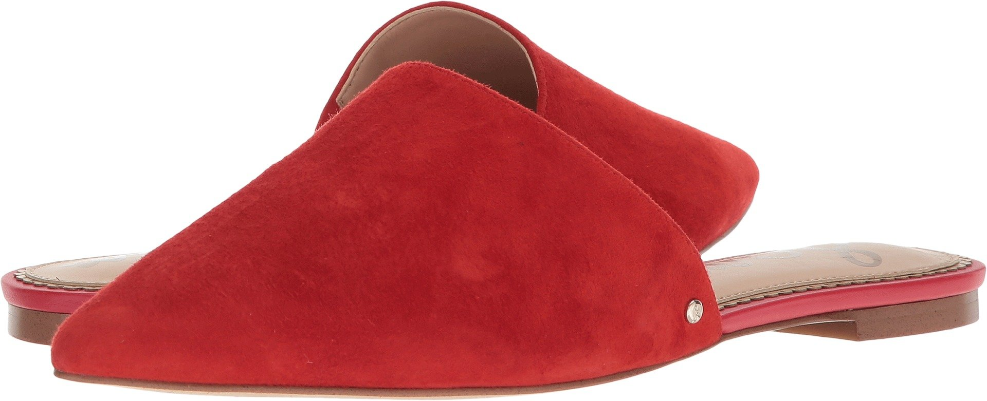 Sam Edelman Women's Rumi Candy Red Kid Suede Leather 11 M US