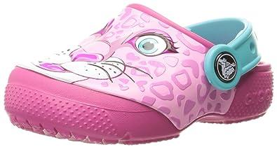 0d2d5da71f772 Crocs Kids  Fun Lab Girls Graphic Clog