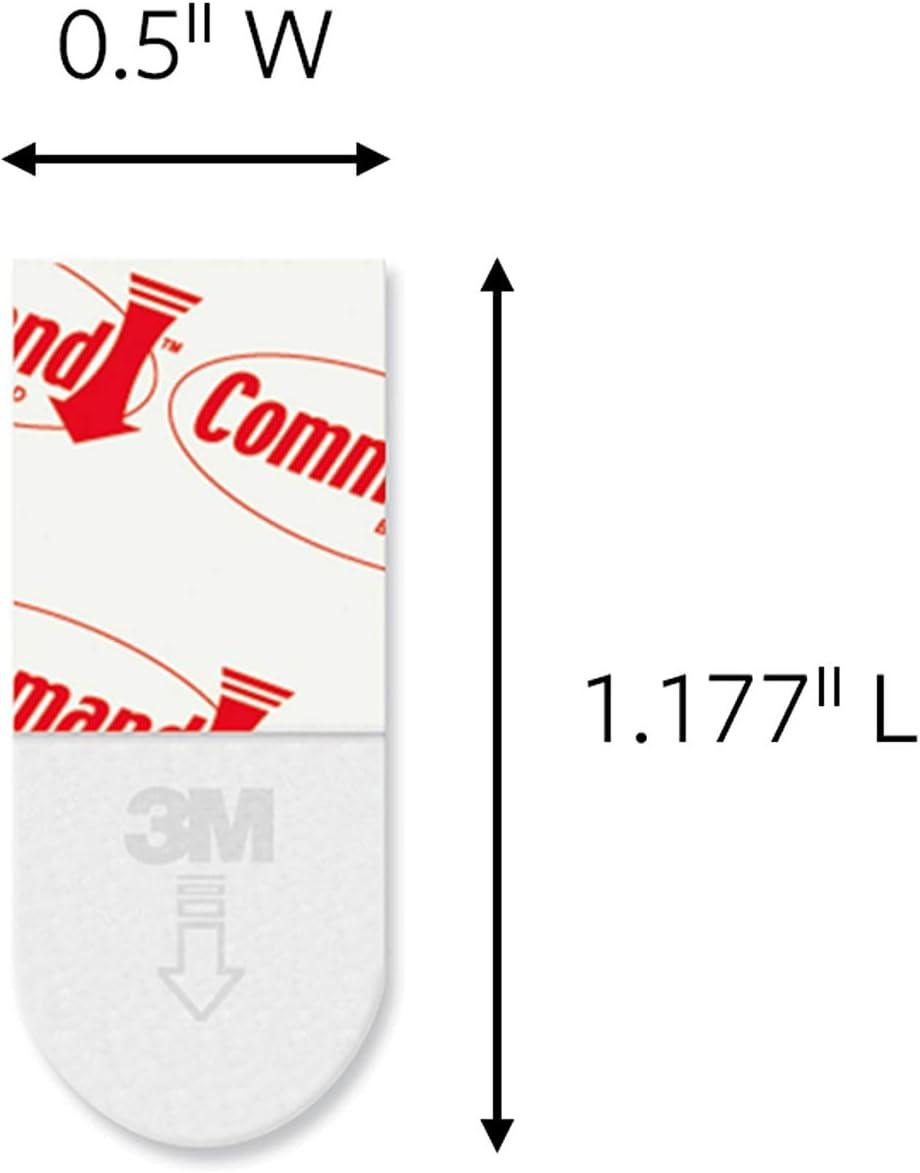 Re-Hang Indoor Hooks Command Replacement Strips 12 strips 17020-ES Mini