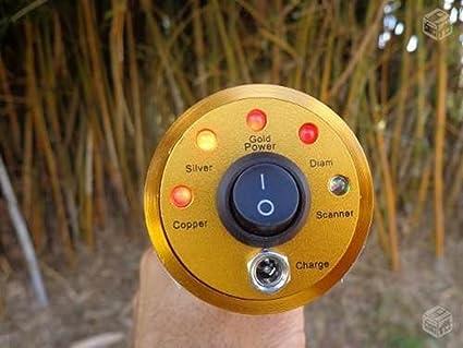 dchouse AKS 800 M gama detector de metales Detección máquina cobre tesoros: Búsqueda