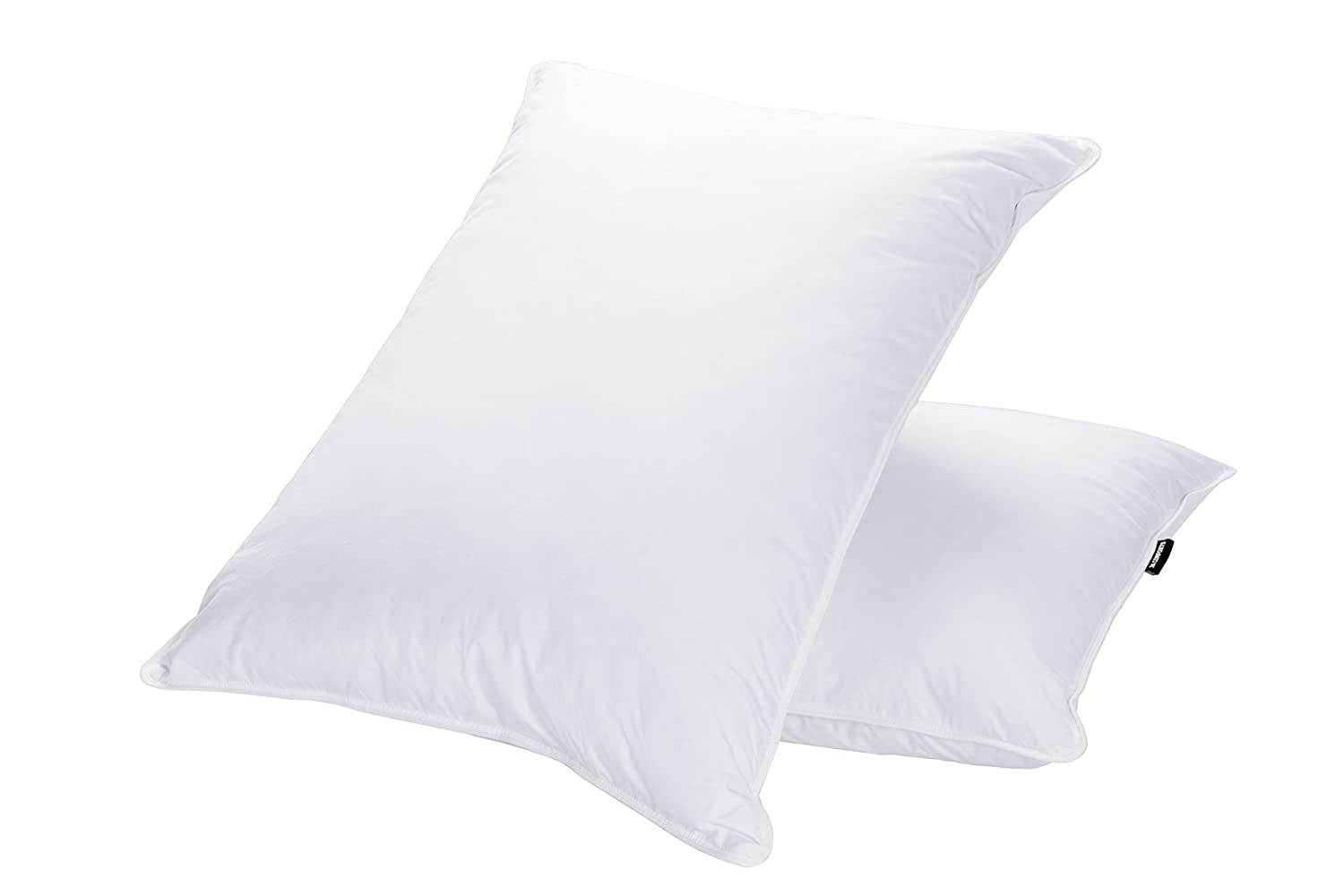 JA COMFORTS Goose Down and Feather Bed Pillows for Sleeping (2 Pack)- Standard/Queen(20IN×28IN), Hotel Collection, Natural Filling, Natural Cotton Cover, White sleep pillows Sleep pillows review – buying guide and review for sleep pillows 713hP6X5kkL