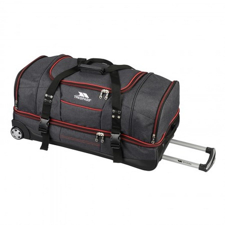 30160583d5399 Trespass Galaxy Rolling Duffle Wheeled Travel   Sports Bag (72cm ...