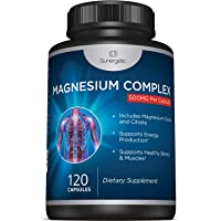 Premium Magnesium Citrate Capsules – Powerful 500mg Magnesium Oxide & Citrate Supplement – Helps Support Healthy Bones…