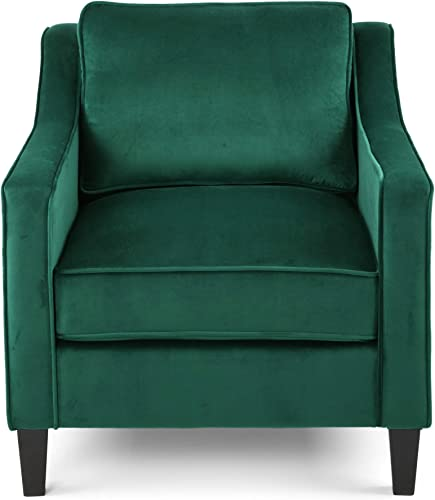 Christopher Knight Home Rachel Contemporary Velvet Club Chair