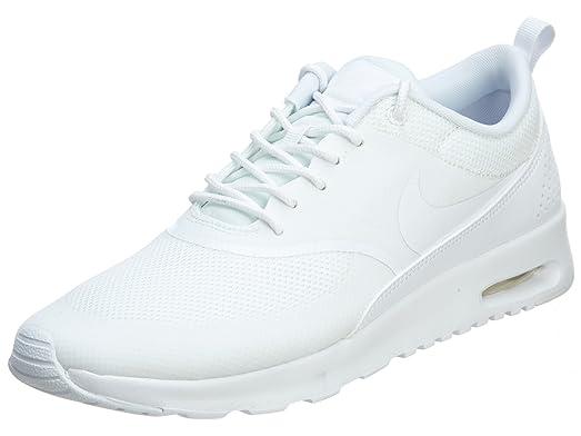 Nike Air Max Thea Womens Style 599409 - 101,White - White, 8.5 M