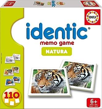 Comprar juego de mesa: Educa Borrás 14783 - Identic Natura (110 Cartas) , Modelos/colores Surtidos, 1 Unidad