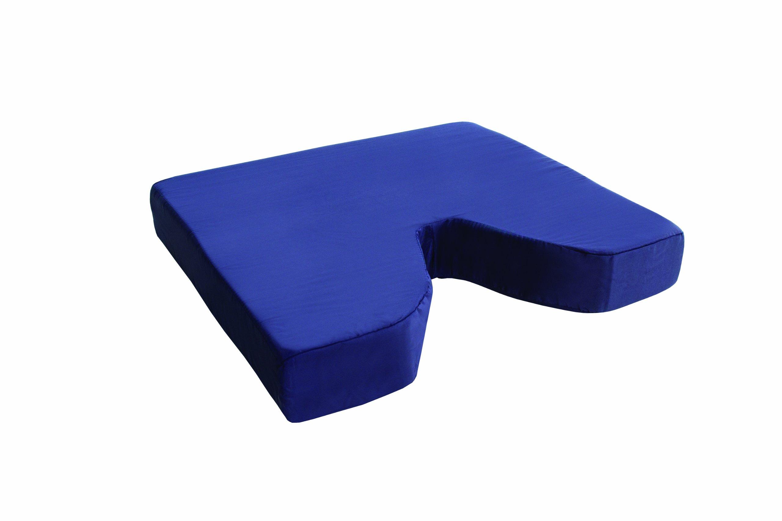 Essential Medical Supply Coccyx Cushion, 16 Inch X 16 Inch X 3 Inch