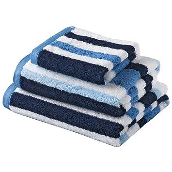 handtücher blau weiß gestreift
