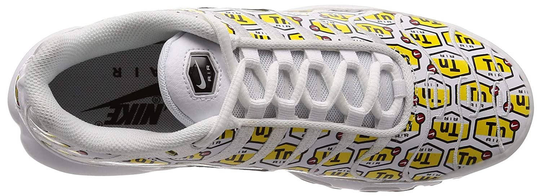 White White White Black gum Yellow Nike Men's Air Max Plus