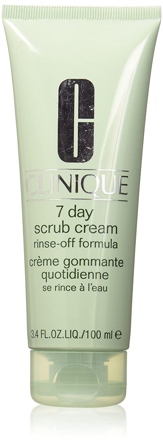 Clinique 7 Day Scrub Cream Rinse Off Formula, 3.4 Ounce