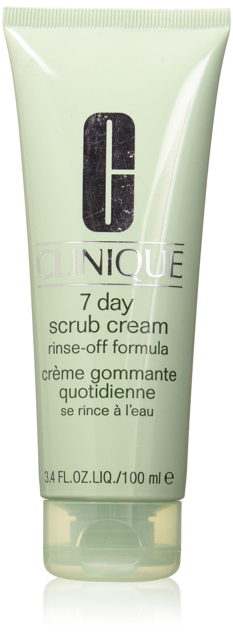 Clinique 7 Day Scrub Cream Rinse Off Formula, 3.4 Ounce by Clinique