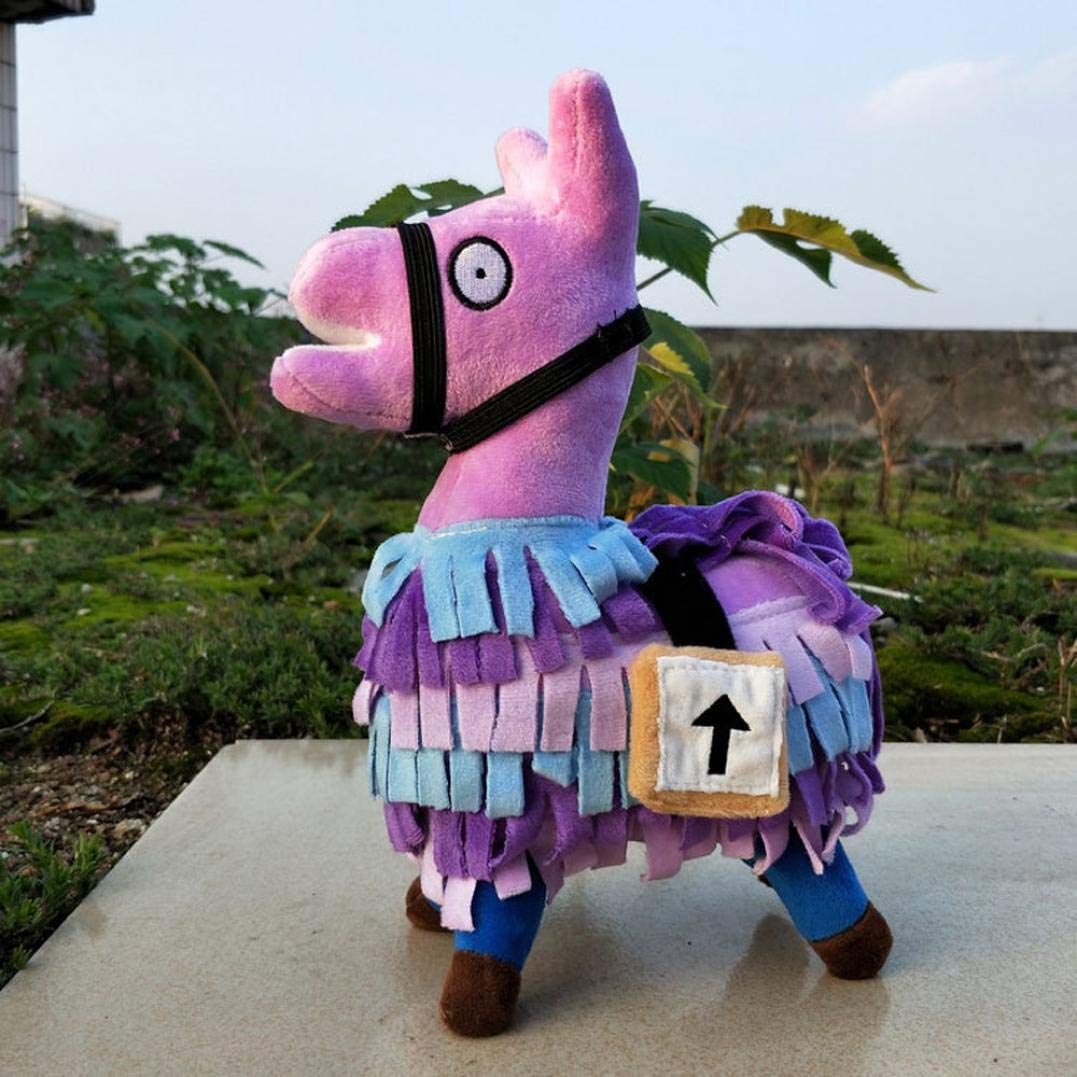 Amazon.com: Rucan Fortnite Llama Plush Figure 35cm - Video Game Fortnite Troll Stash Llama Stuffed Toy: Toys & Games