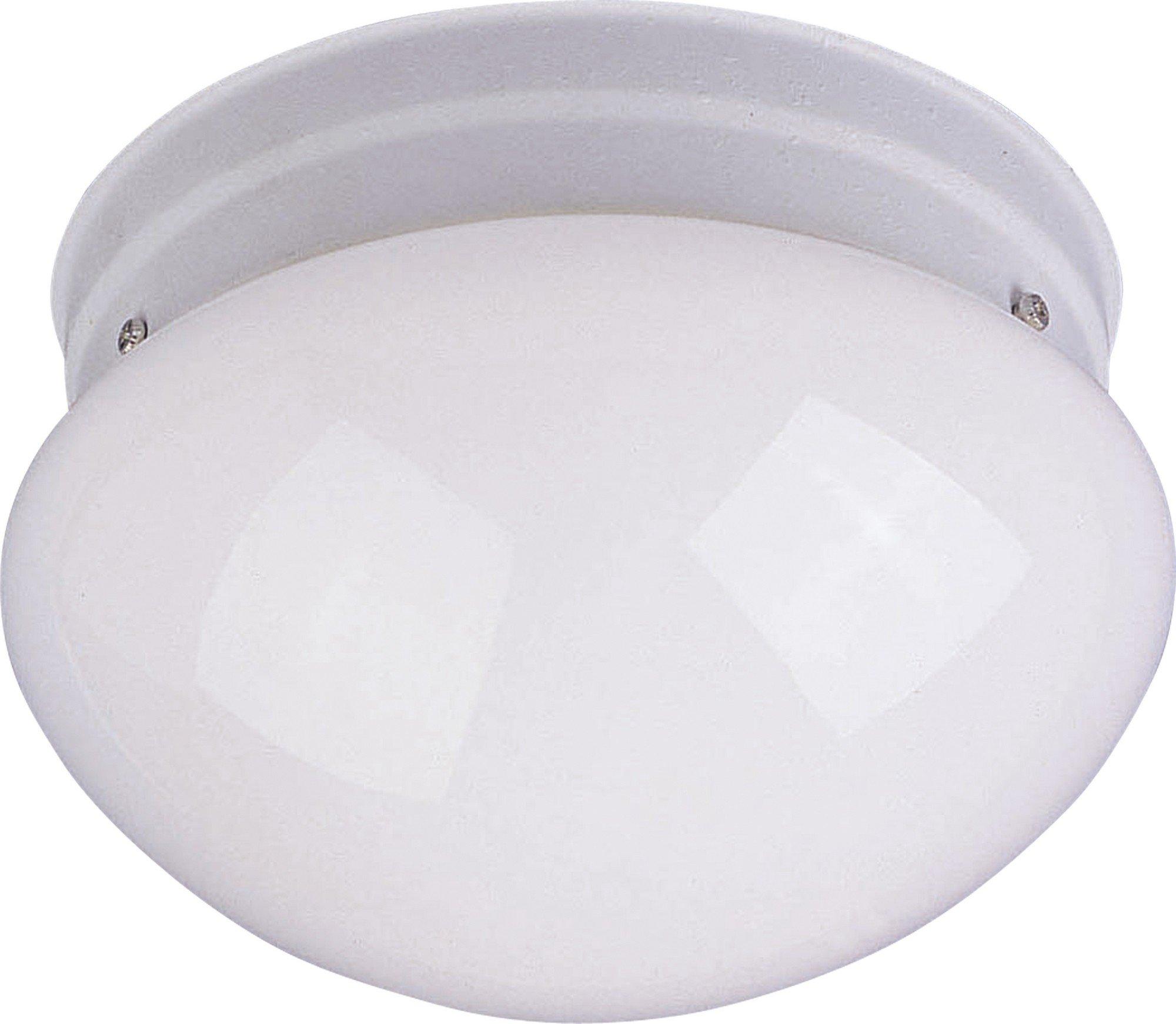 Maxim 5880WTWT Essentials 1-Light Flush