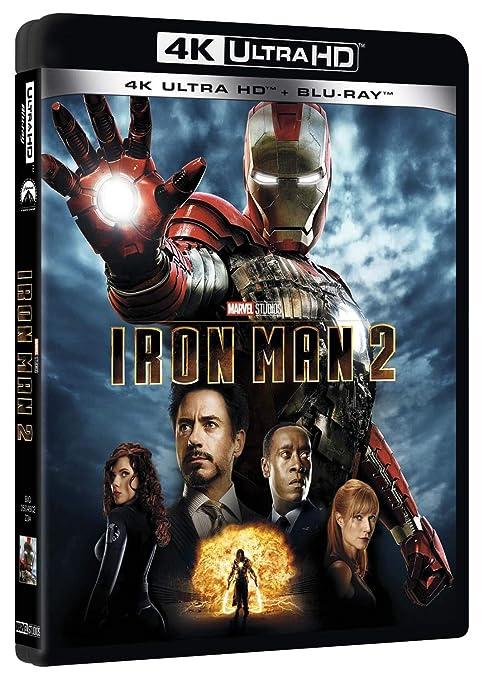 Iron Man 2 Blu-Ray 4K Ultra Hd+Blu-Ray Italia Blu-ray: Amazon.es: Ac/Dc, Paul Bettany, Don Cheadle, John Debney, Robert Downey Jr, Jon Favreau, Samuel L. Jackson, Scarlett Johansson, Kate Mara, Gwyneth Paltrow, Mickey