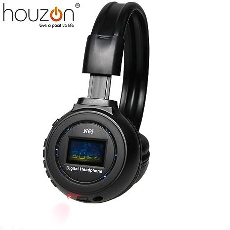 HOUZON® Zealot N65 Auriculares Headphones Earphones Inalámbrico Estéreo MP3 Compatible Con Tarjeta De Memoria Sin