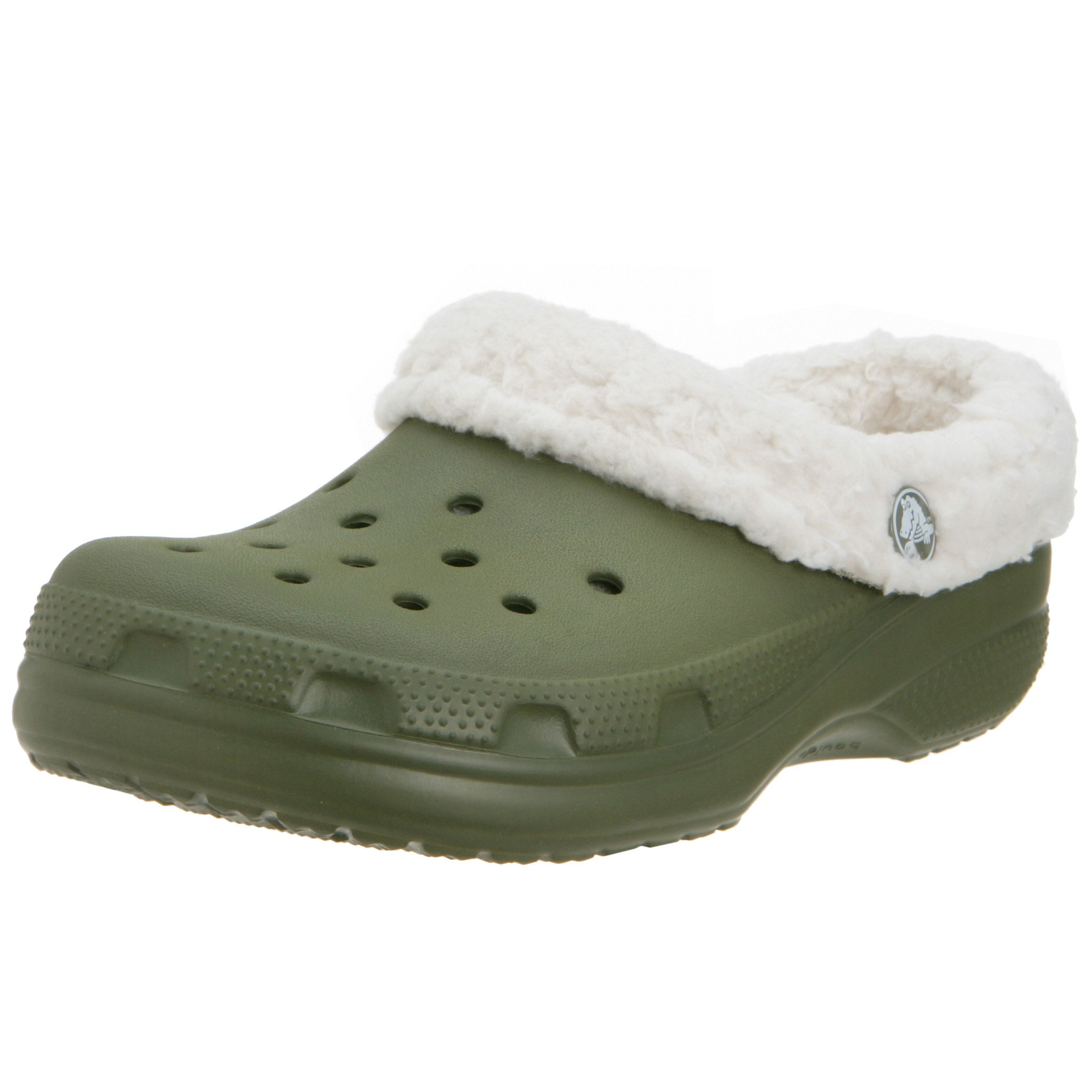 Crocs Mammoth Shoes Army Green Kids Size C6 / C7 by Crocs (Image #1)