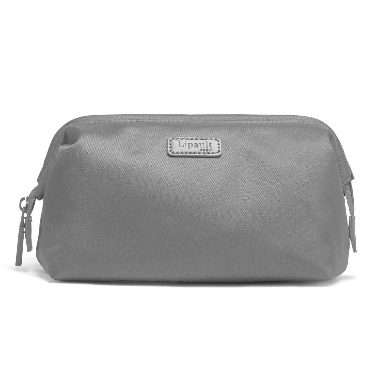 b0a877fa05b3 Lipault - Plume Accessories Toiletry Kit - Medium Compact Travel Organizer  Bag for Women - Pearl Grey