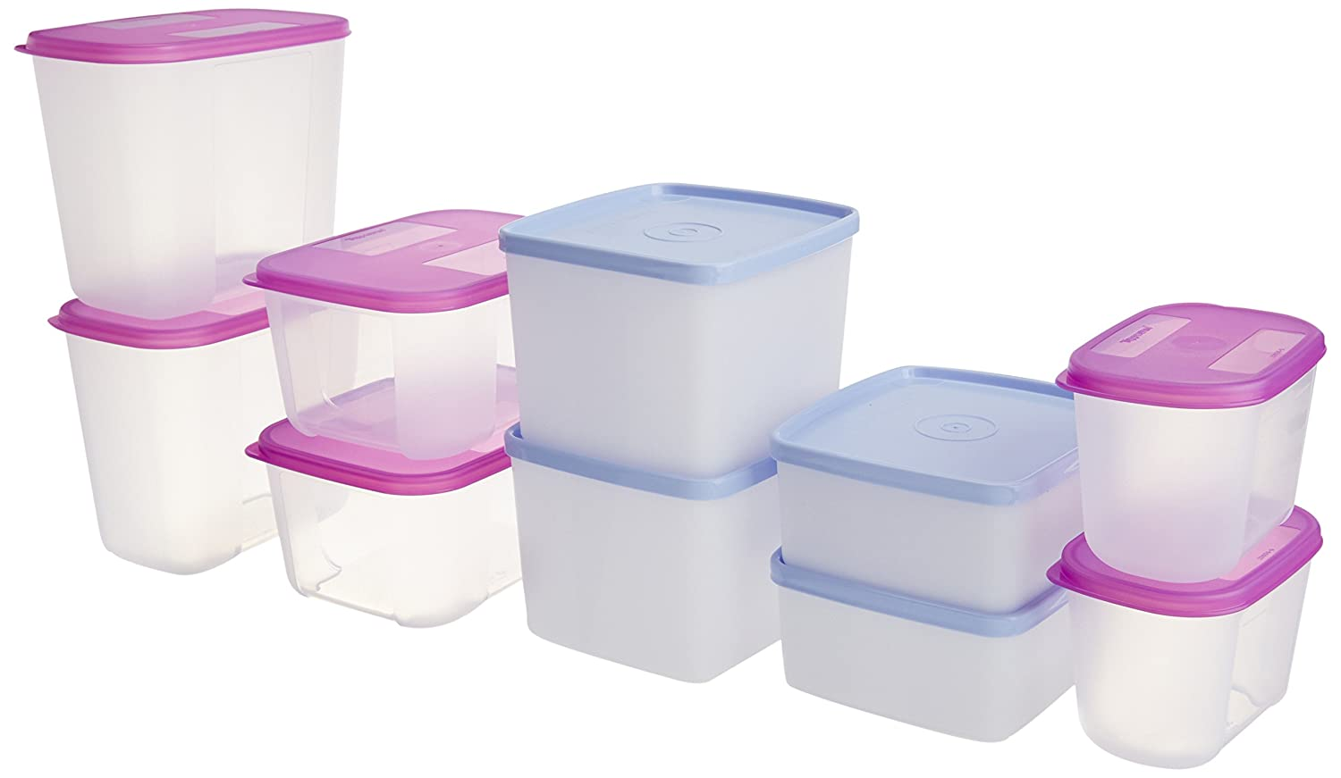 Buy Tupperware Refrigerator Box Set, 8-Pieces, and Get Freezer Mate ...