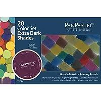 Panpastel Ultra Suave Artista Pastel Colores, Sombras extraoscuras