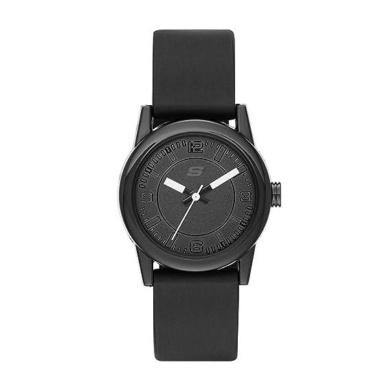 05ac65b795f6 Skechers SR6028 Reloj Análogo para Mujer Extensible de Silicon ...
