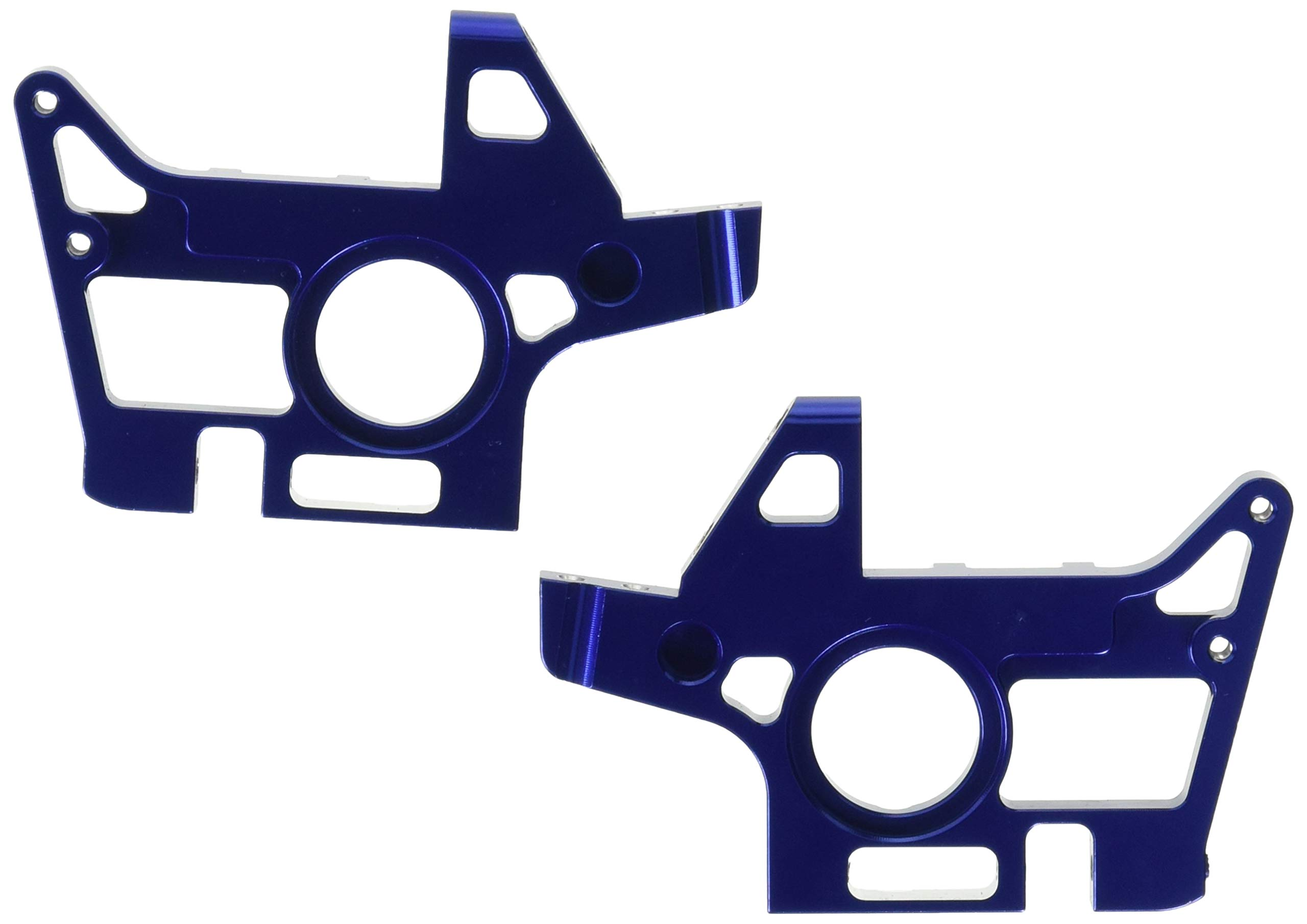 Traxxas 4930X Blue-Anodized Front Bulkheads machined from 6061-T6 Aluminum (L&R halves)