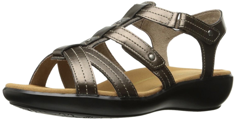 Rockport Women's Rozelle Gladiator Wedge Sandal B01JIPGYQ6 10 B(M) US|Bronze Smooth