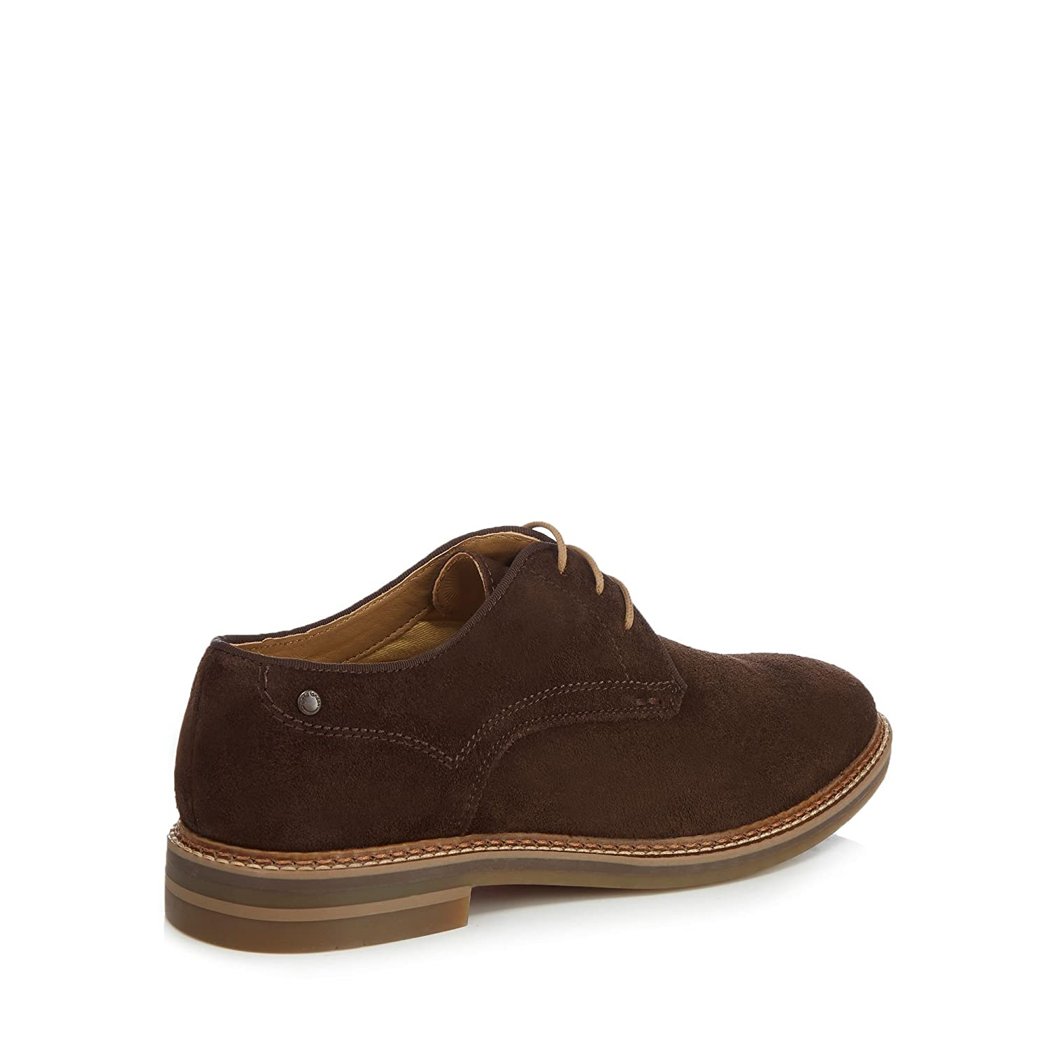 Base London Mens Brown Suede 'Blake' Lace Up Shoes From Debenhams 6:  Amazon.co.uk: Shoes & Bags