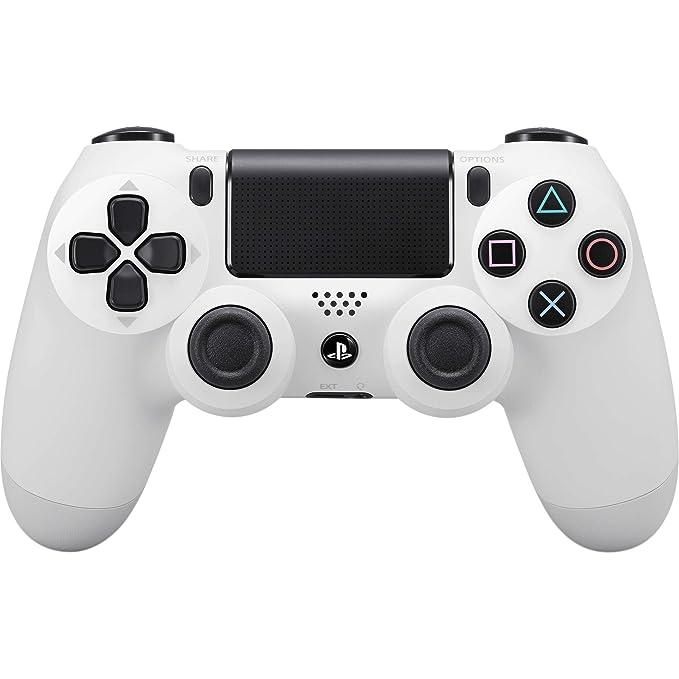 Sony - Dualshock 4 V2 Mando Inalámbrico, Color Blanco ...