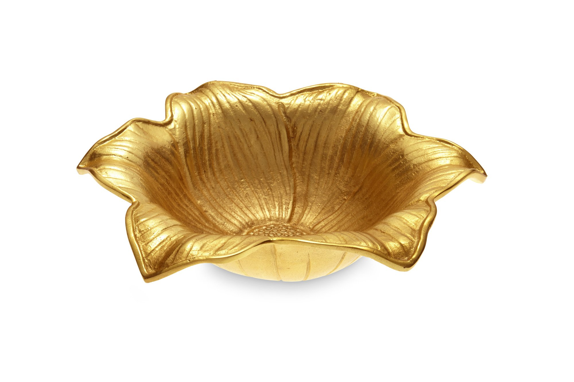 Julia Knight Lily Bowl, 15-Inch, Gold, Yellow by Julia Knight