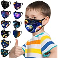 10PC Kids Face Covering Child Children Baby Face Bandanas Washable Reusable Breathable Safety Protect for Sport