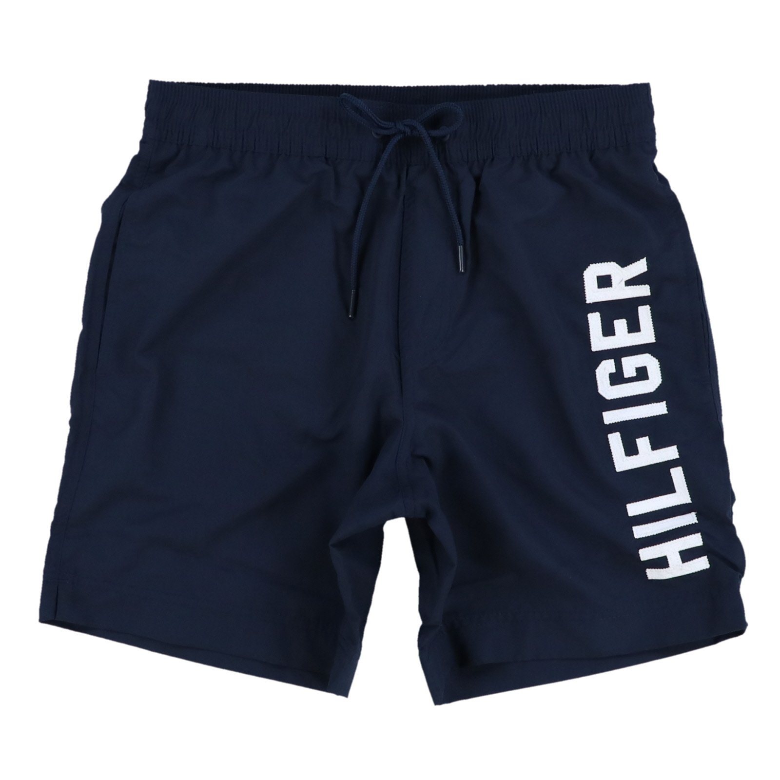 Tommy Hilfiger Mens Swim Trunks (Medium, Navy Blue)