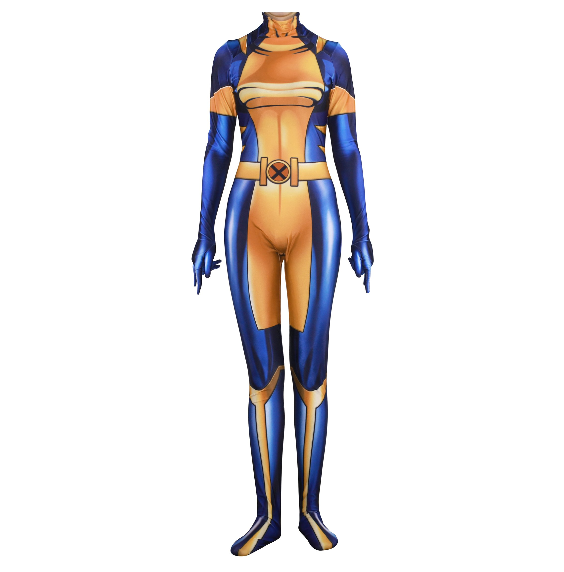 Rieknic Superhero Womens Spandex Zentai Bodysuit Halloween Cosplay Costumes Adult/Kids 3D Style 713hd6hxb9L