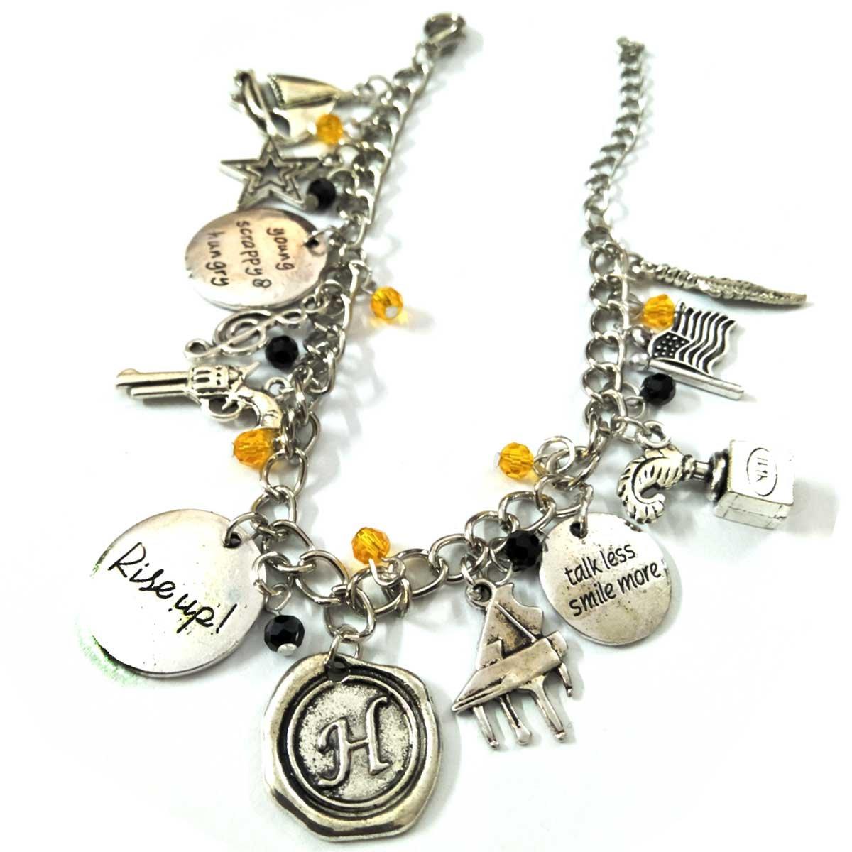 Hamilton Charm Bracelet for Women - Hamilton Merchandise Jewelry Gifts