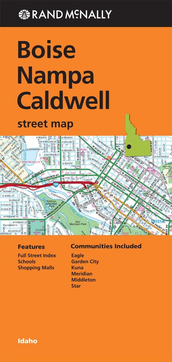 Rand Mcnally Folded Map Caldwell