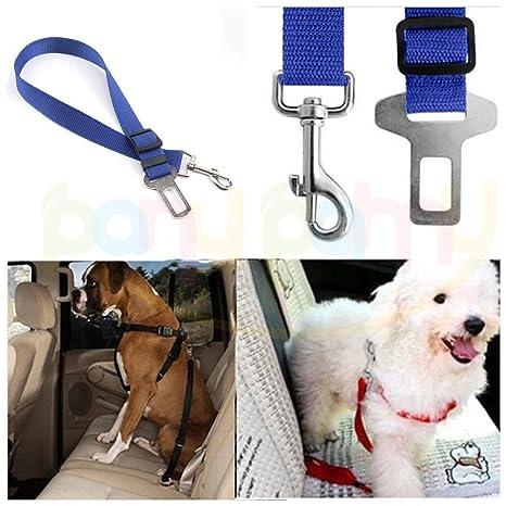 Cinturón de seguridad ajustable para perro, gato, coche, cinturón ...