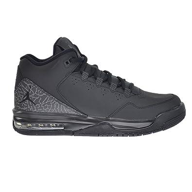 outlet store 8d187 e54fc Jordan Flight Origin 2 BG Big Kids Shoes Black Black-Dark Grey 705160-